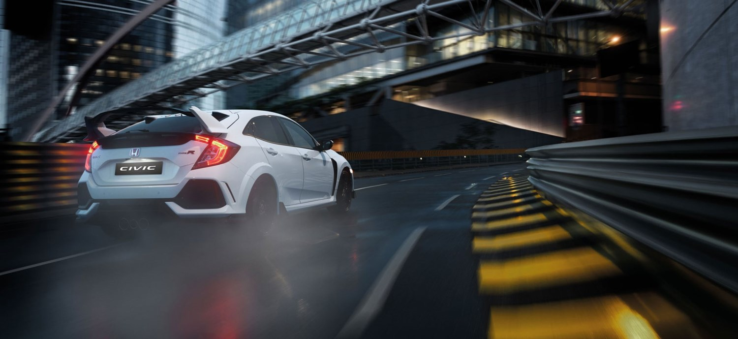 New White Honda Civic Type-R