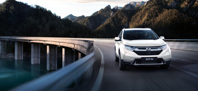 New White Honda CR-V