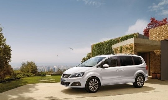 The SEAT Alhambra with £2,000 towards your deposit**