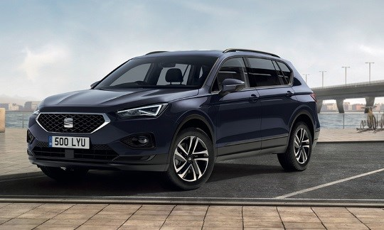SEAT Tarraco from £269 per month