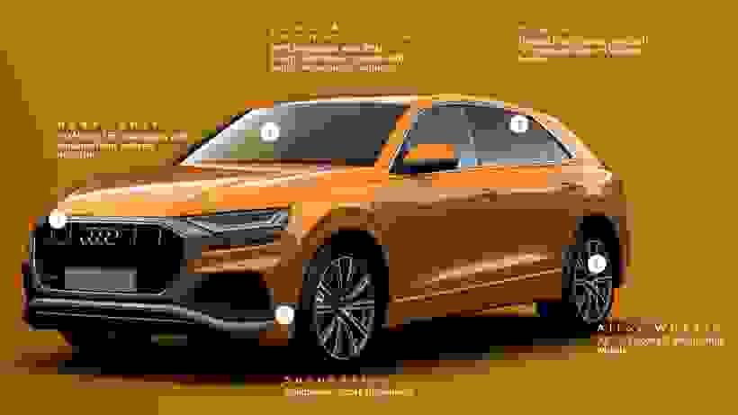New Audi Q8