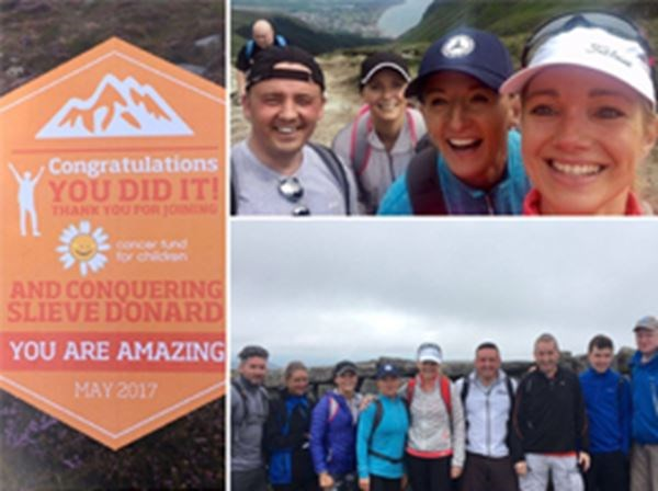 Cancer Fund for Children Slieve Donard Challenge