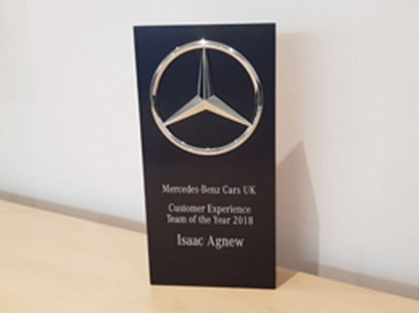 Mercedes-Benz wins Customer Experience Award