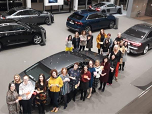 Audi NI hosts Women In PR event