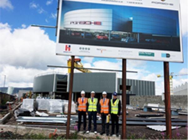 New Porsche Centre Belfast, opening December 2017, Sydenham Road, Belfast.