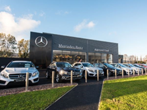 Mercedes-Benz Approved Used New Showroom