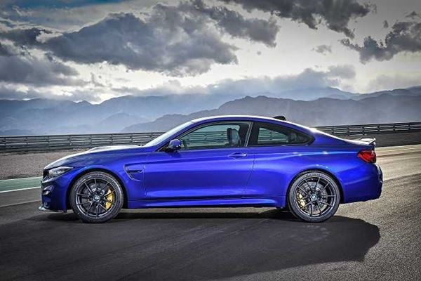 The New BMW M4 CS
