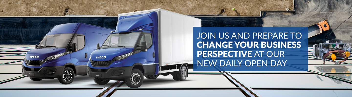 IVECO Daily Open Days coming to North East Truck and Van