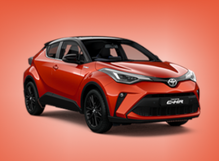 New Toyota C-HR Hybrid Orange Edition