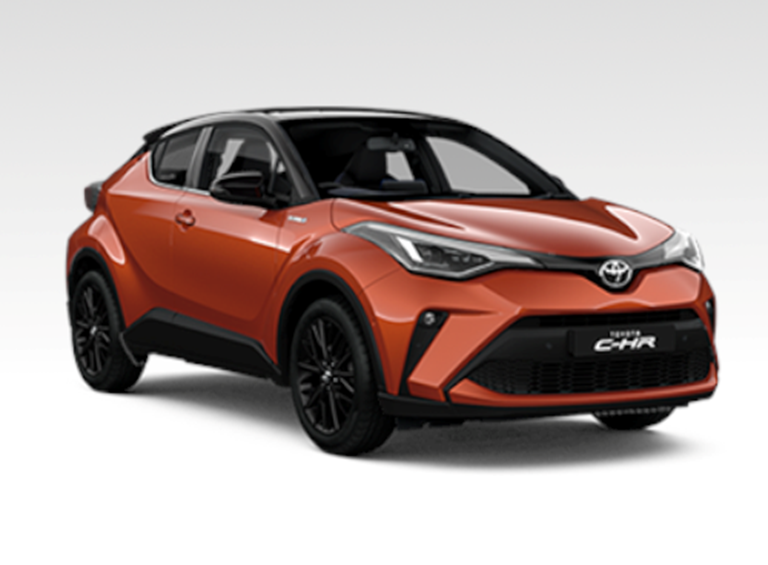 New C-HR Hybrid Orange Edition