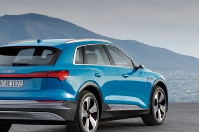 THE NEW AUDI E-TRON 50 QUATTRO REVEALED WITH FOUR MODELS