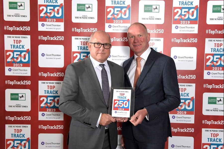 Sunday Times Grant Thornton Top Track 250