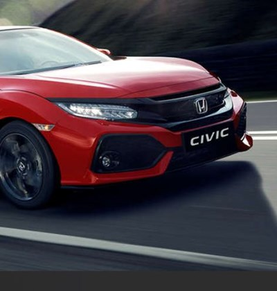 Honda Civic 1.0 Turbo 130PS £0 Deposit, £289 per month saving you £3,284.83