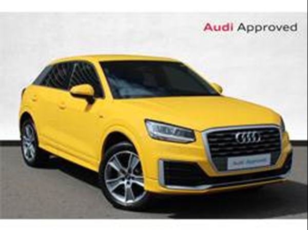 APPROVED USED AUDI Q2 1.4 TFSI S LINE S TRONIC