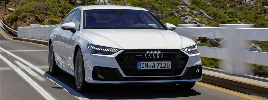 A7 Coupe Front View