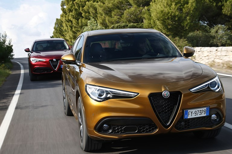 New Alfa Romeo Giulia and Stelvio my2020