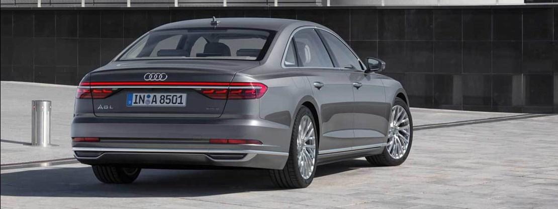 Audi A8 Rear View