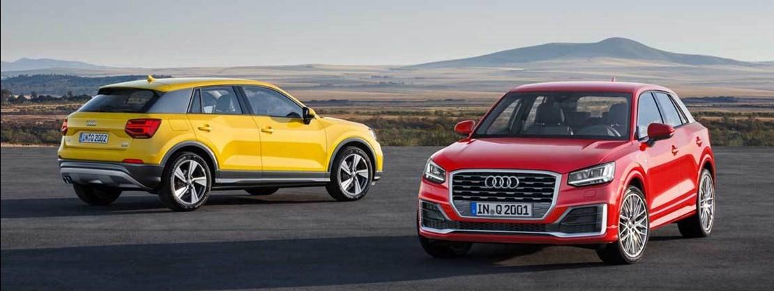 Audi Q2 Range