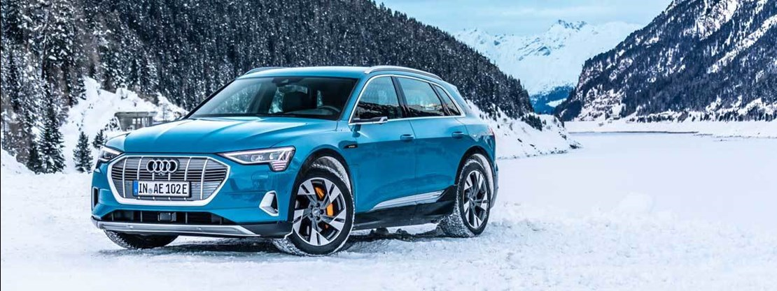 Audi E-tron Front View