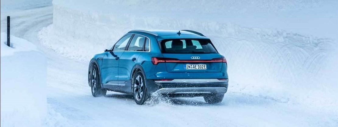 Audi E-tron Rear View