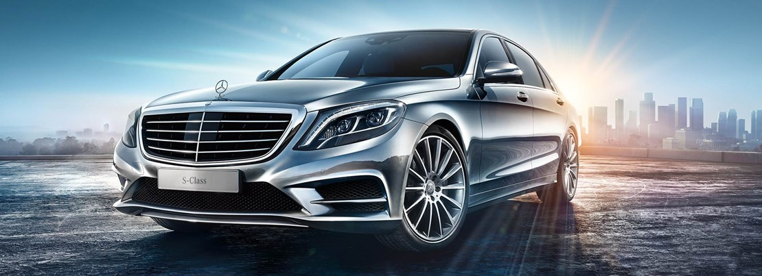 S Class Front View