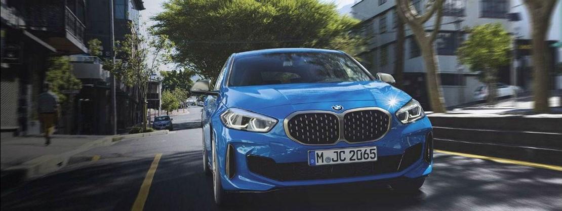 BMW 1 Series Hatch Misano Blue
