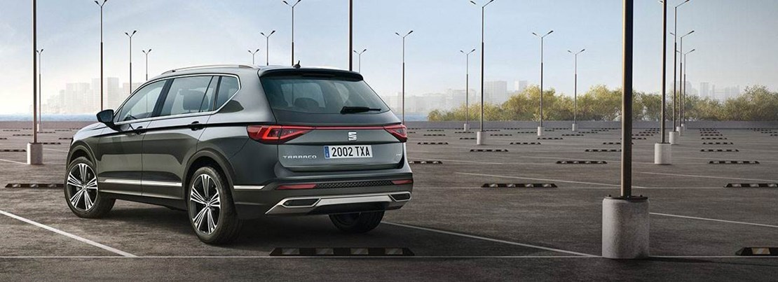 SEAT Tarraco Rear View