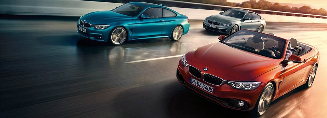 BMW 4 Series Range