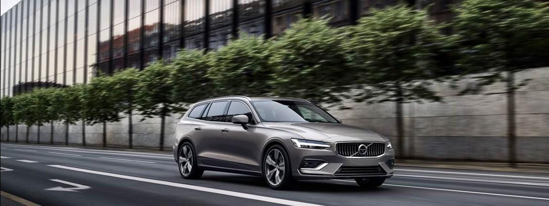 Volvo V60 Front View