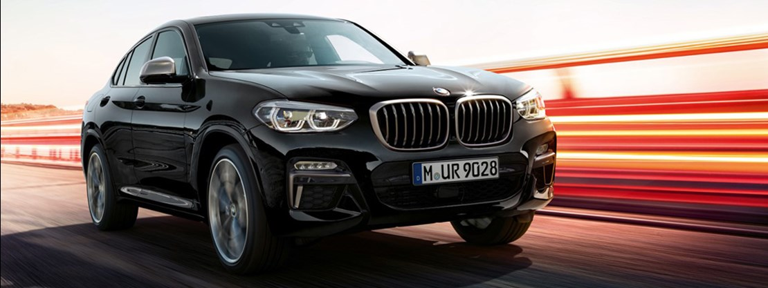 BMW X4 Black