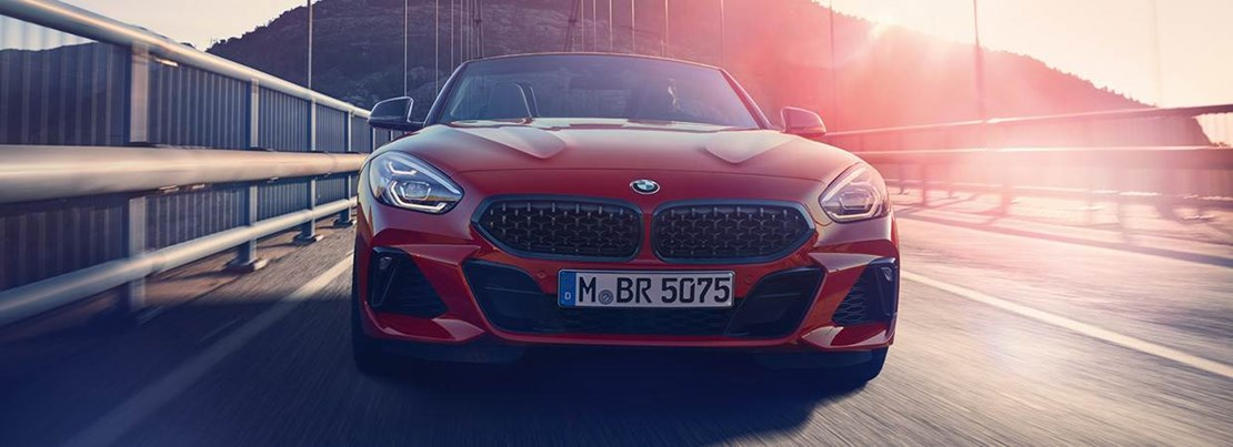 BMW Z4 Front View