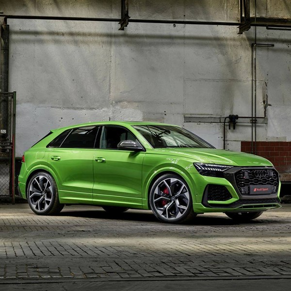 Audi has unveiled the new RS Q8