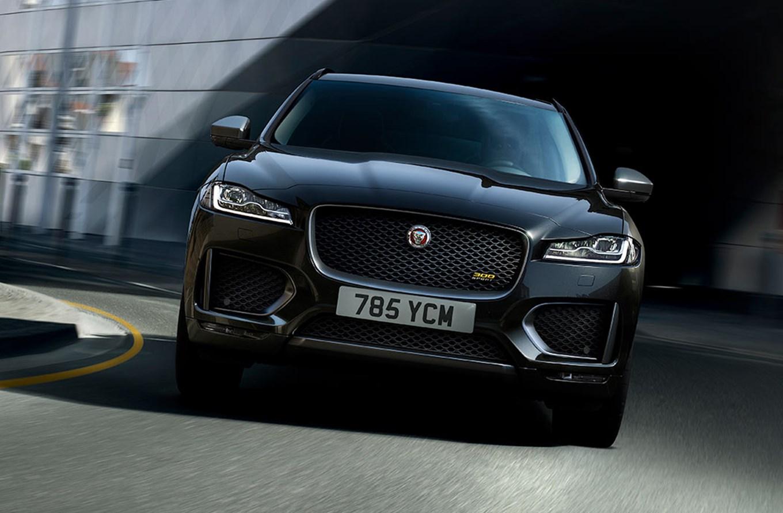 The new Jaguar F-Pace