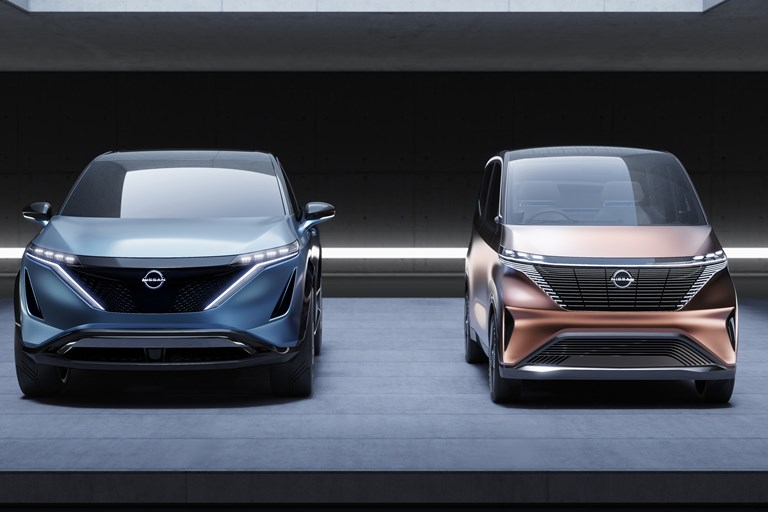 Nissan's Imk and Ariya Concepts: An All-New Design Direction for the EV Era