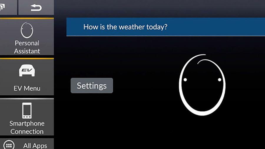 Weather through the My Honda+ app