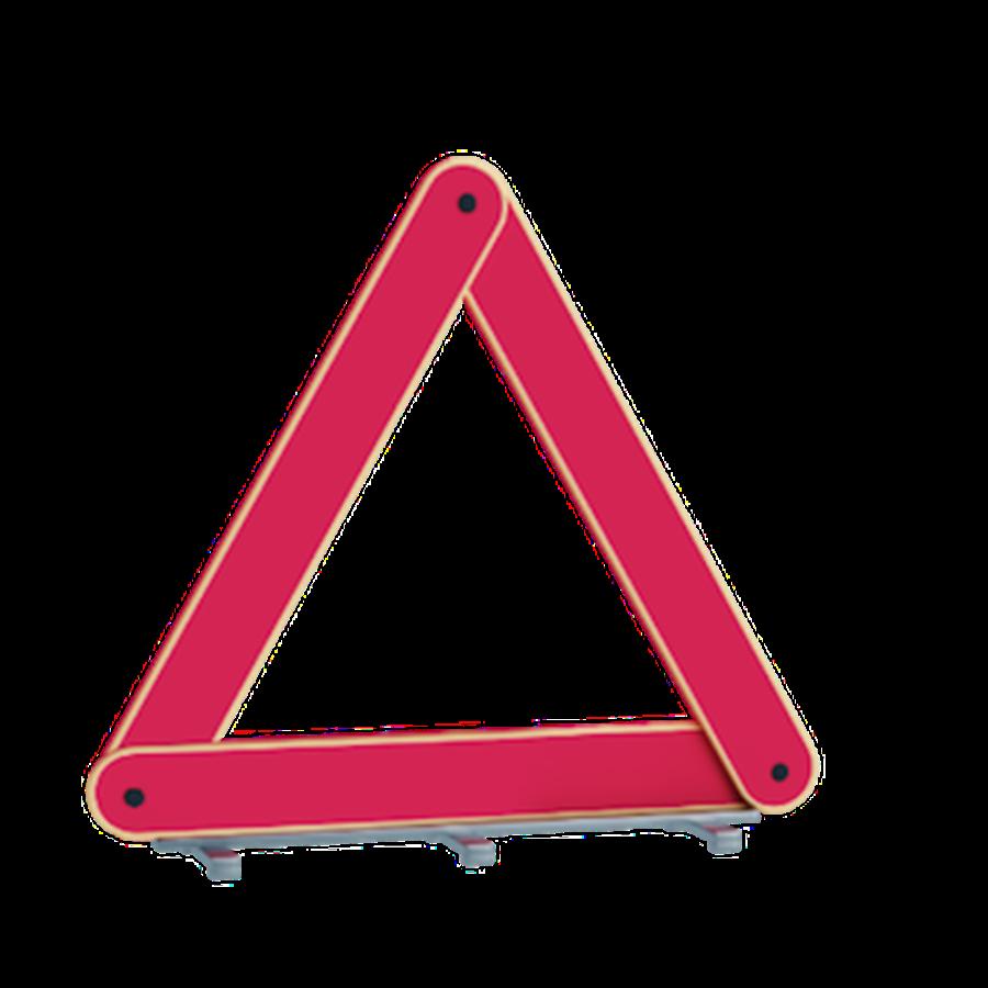 Roadside warning sign