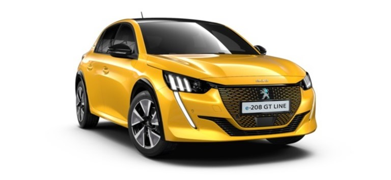 Peugeot All-New e-208 GT Line Electric 50 kWh 136 Business Offer