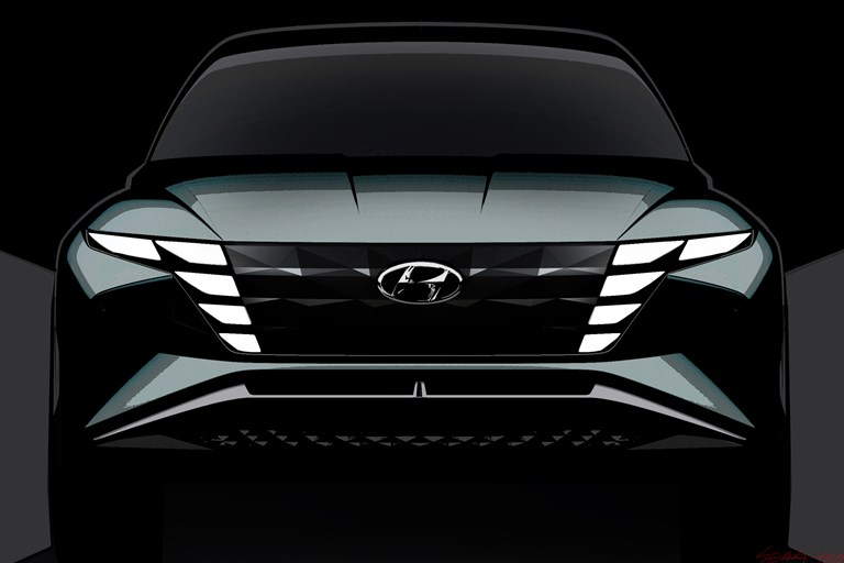 Hyundai Reveals Vision T Plug-In Hybrid SUV Concept