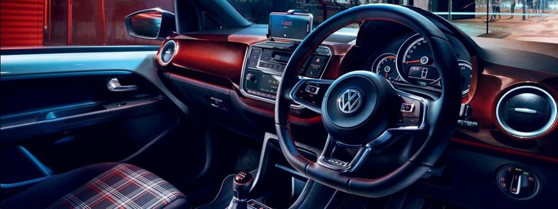 Volkswagen Up Interior View