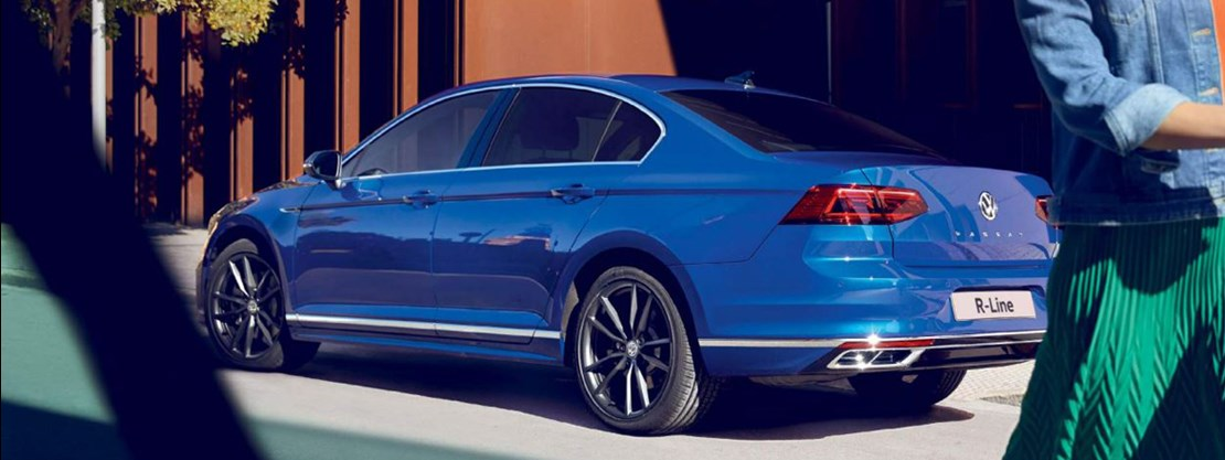 Volkswagen Passat Saloon Rear View