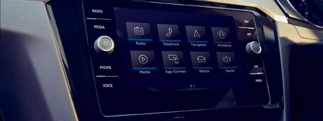 Volkswagen Passat Infotainment Screen