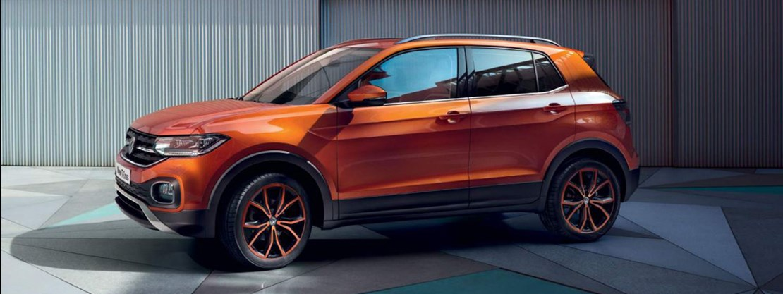 T-Cross with optional Energetic Orange Design Pack