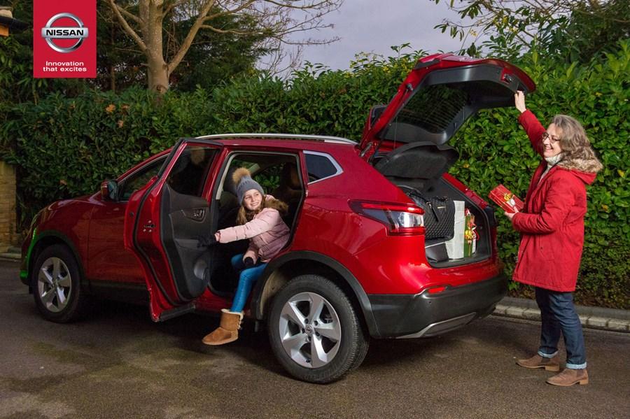 Nissan Qashqai Unveils the Secret to a Stress-Free Christmas Road-Trip