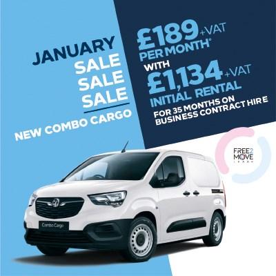 Brand New Vauxhall Van Offer - Combo