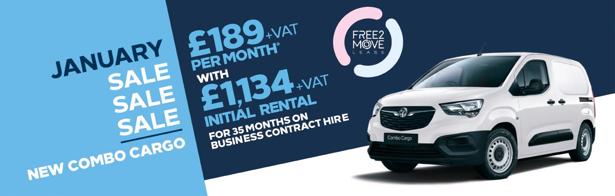 Free2Move Lease Combo £189 Per Month