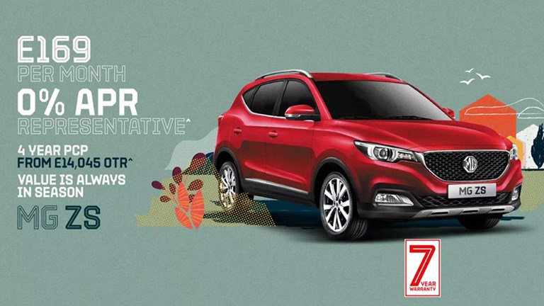 MG ZS Latest Offers