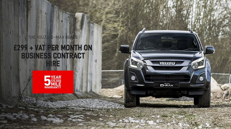 ISUZU D-Max Blade Business Contract Hire