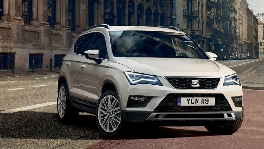 The SEAT Ateca FR Black Edition 1.5TSi