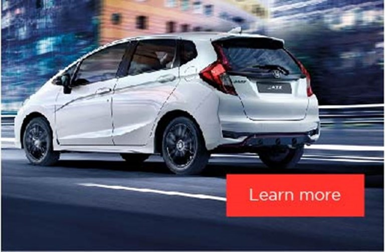 Honda Jazz Motability Offers