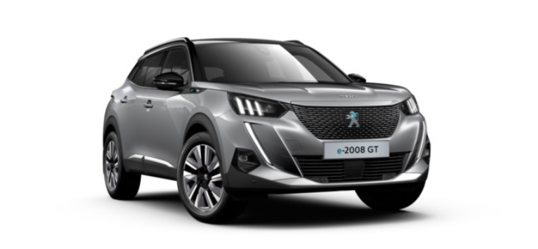 Peugeot All-New 2008 SUV GT Electric 50 kWh 136 Business Offer